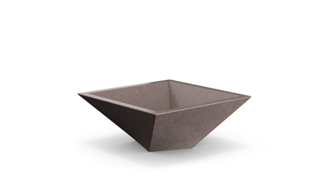 Shear Planter in Russet-brown