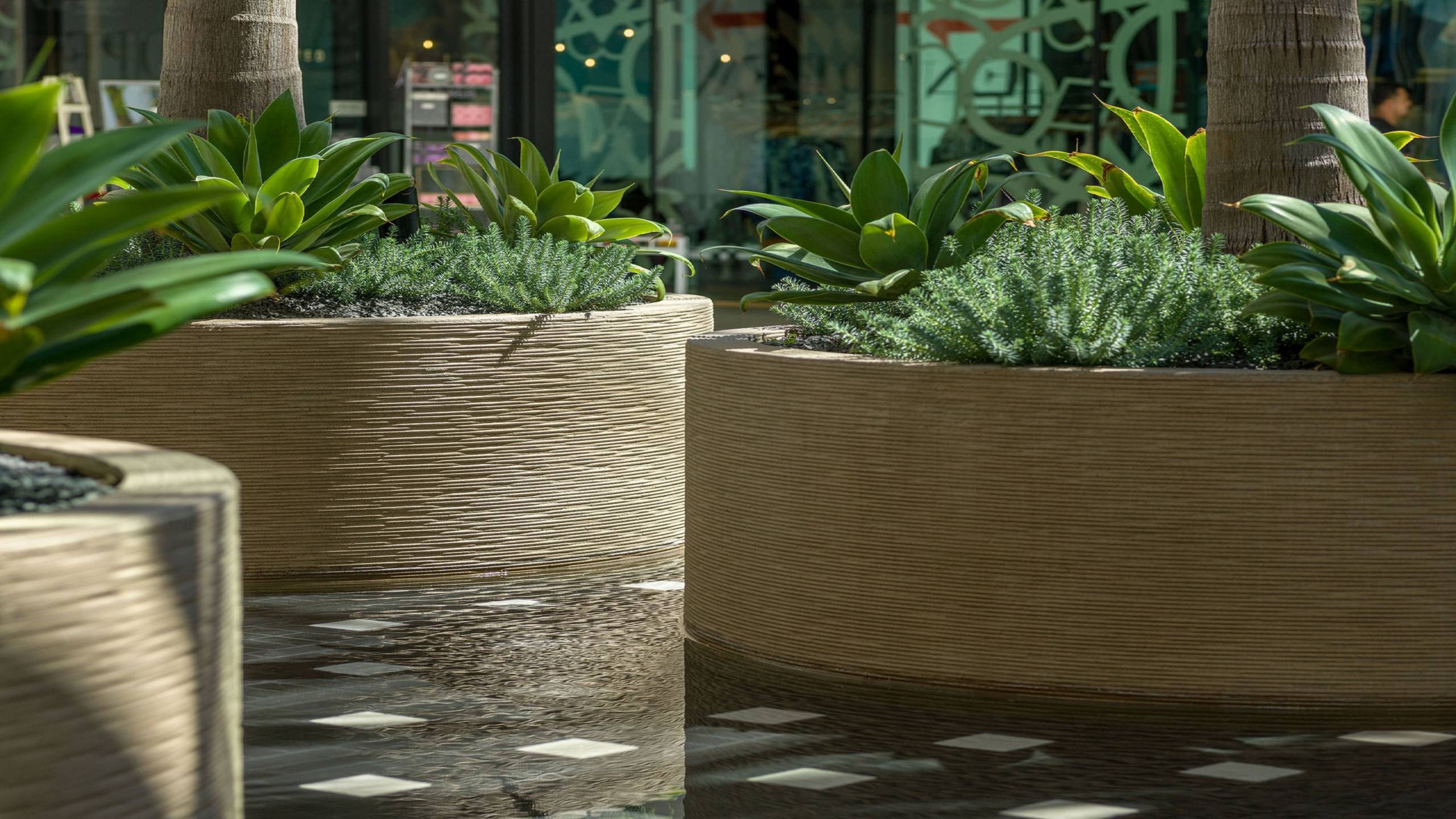 Perfect Concrete Architectural Amenities U0026 Furniture | Commercial Pavers ...